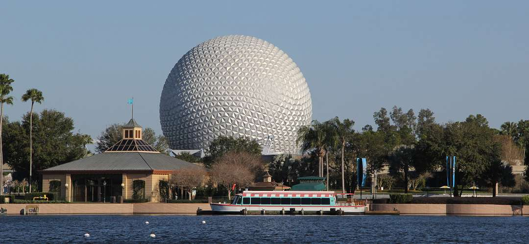 Spaceship Earth at Epcot in Orlando
