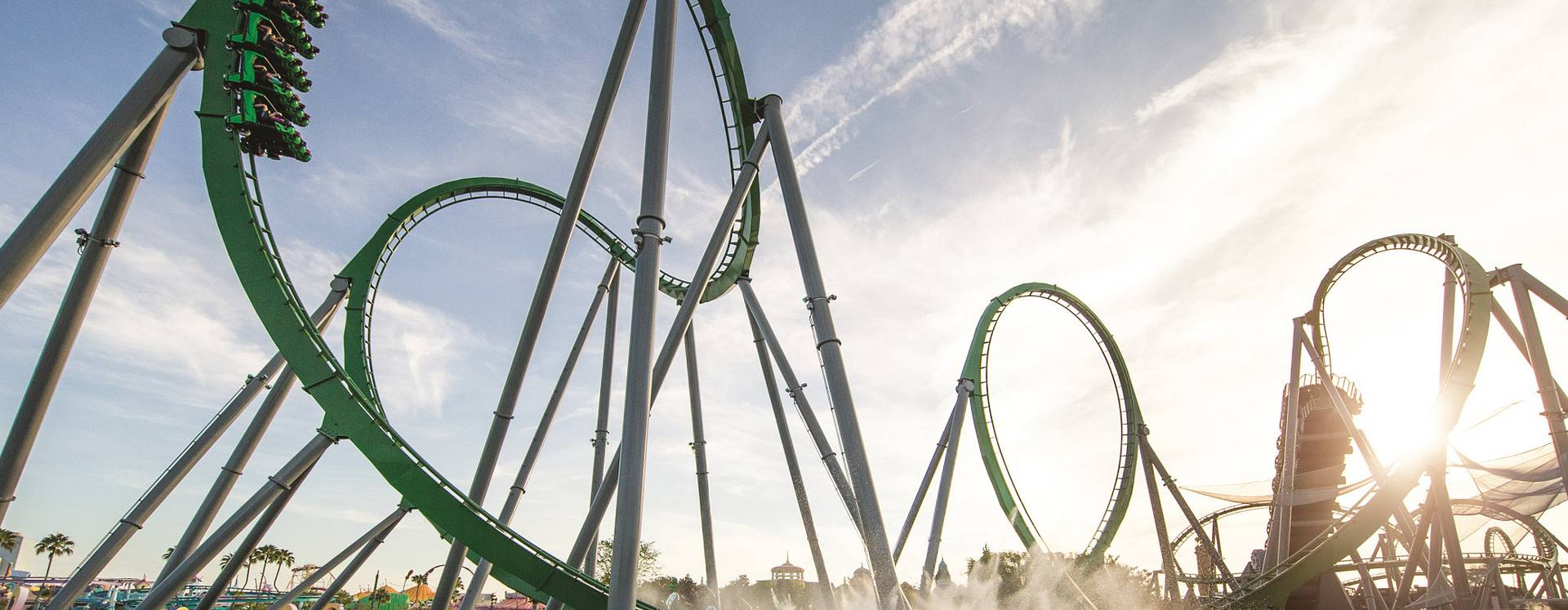 The Incredible Hulk attraction at Universal's Islands of Adventure