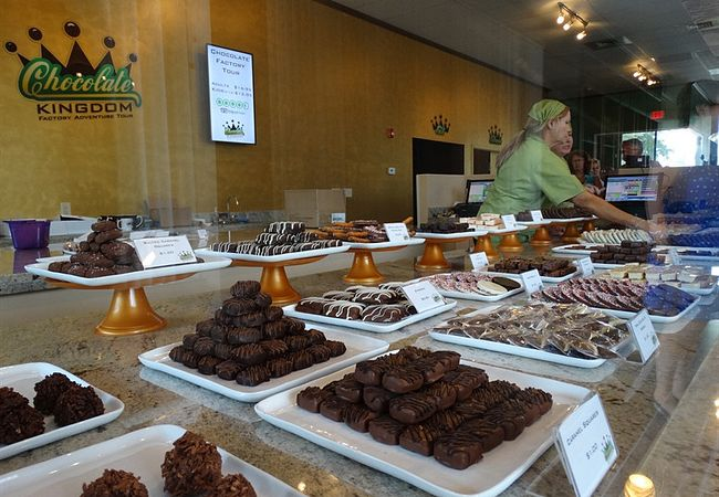 Locally Produced Chocolate, Wine and More Can Be Purchased in Orlando