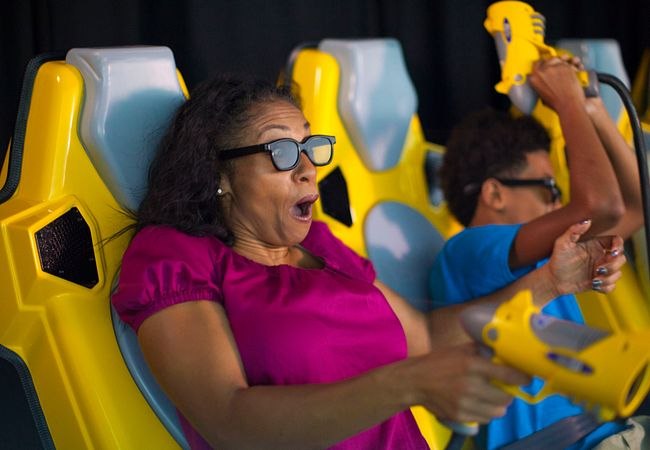 7D Dark Ride Adventure at ICON Orlando 360 (Photo © FACE Amusement)