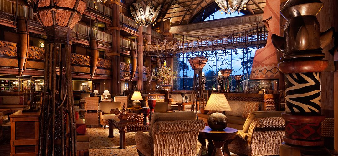Lobby of Disney's Animal Kingdom Lodge