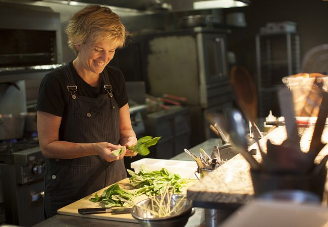 James Beard-Nominated Chef Kathleen Blake of The Rusty Spoon in Downtown Orlando