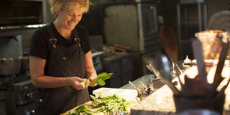 Chef Kathleen Blake of The Rusty Spoon in Orlando
