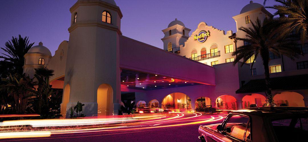 Hard Rock Hotel's Front Entrance