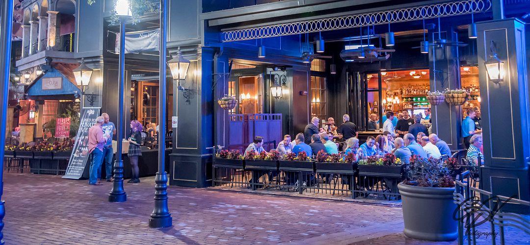 Exterior del bar y restaurante The Pub Orlando