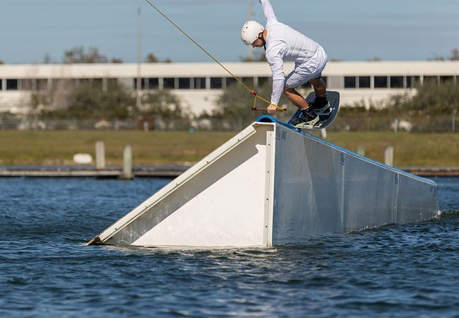 Wakeboarding at Orlando Watersports Complex (Photo: John Lipscomb)