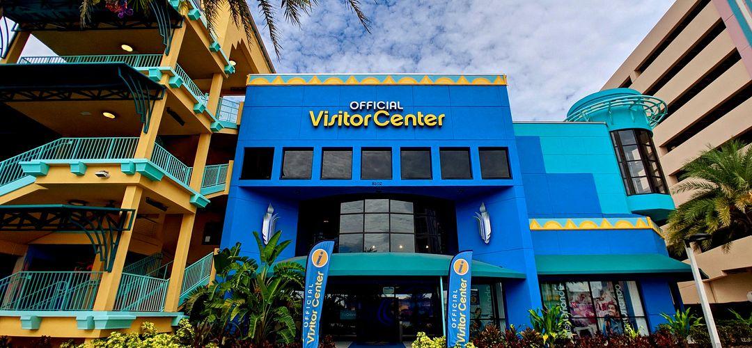 Foto da parte externa do prédio do Official Visitor Center