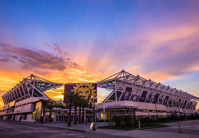 Orlando City Stadium in Downtown Orlando