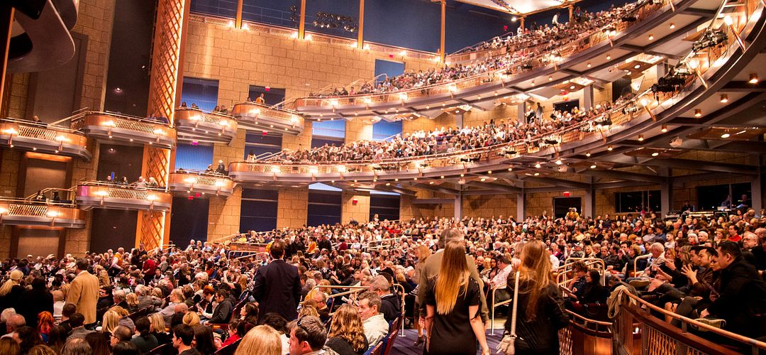 Walt Disney Theater at the Dr. Phillips Center for the Performing Arts in Downtown Orlando