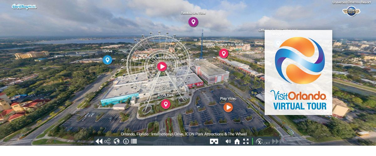 Explore Virtual Tours   Visit Orlando
