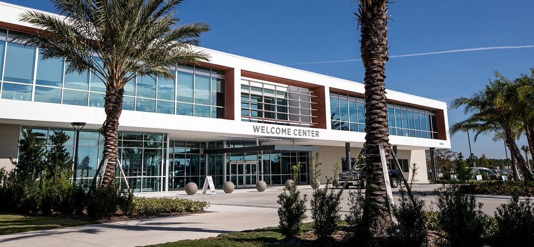 USTA Welcome Center, The Home of American Tennis<sup>®</sup> in Orlando, Florida.