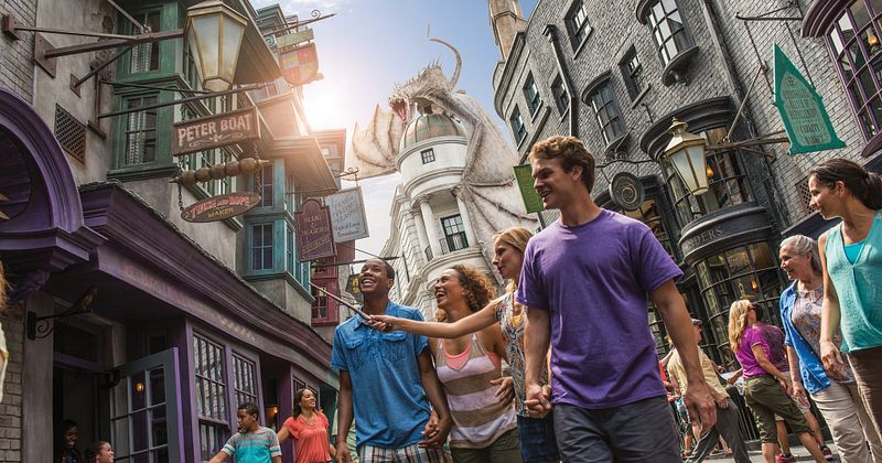 Enter the mesmerising world of some of the biggest Hollywood movies at Universal Studios Florida.