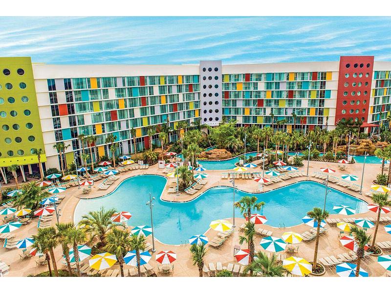 Universal's Cabana Bay Beach Resort on
