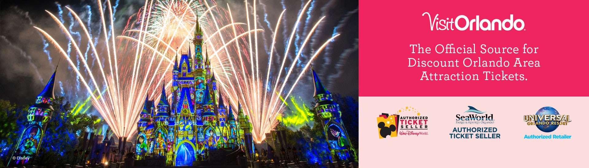 Official Source for Discount Orlando Theme Park & Attraction Tickets