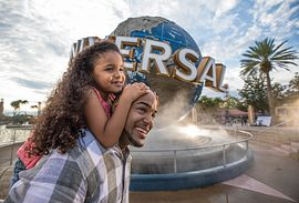 Hollywood Rip Ride Rockit roller coaster at Universal Studios Florida in Orlando