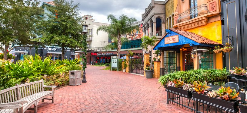 Pointe Orlando restuarants