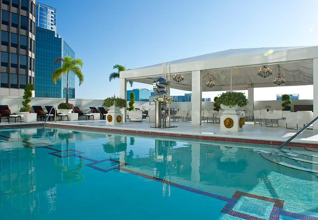 Rooftop Pool at Grand Bohemian Hotel Orlando