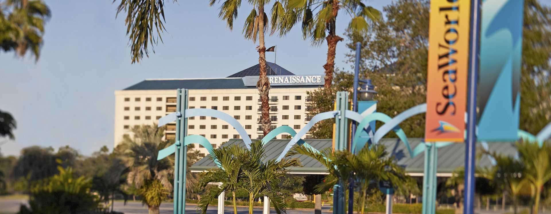 Renaissance Orlando at SeaWorld hotel exterior