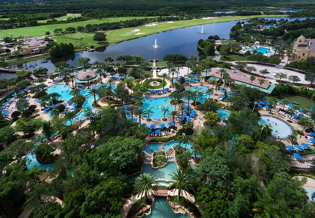 Lazy River at JW Marriott Orlando, Grande Lakes