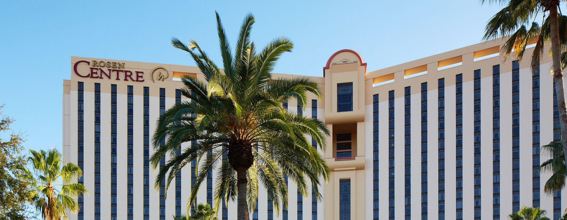 Exterior of the Rosen Centre Hotel