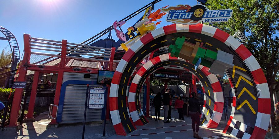 Get an early look at LEGOLAND Florida Resort's newest attraction, The Great LEGO Race, as well as a sneak peek at other new additions coming to the park in 2018.