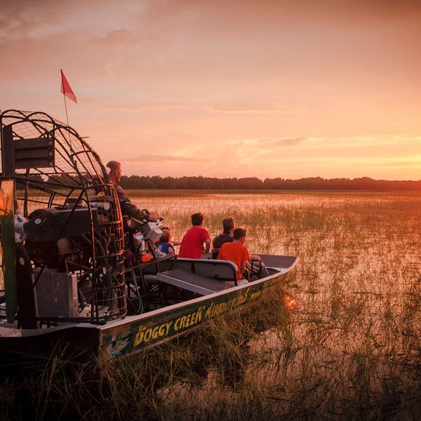 Discounted Boggy Creek Airboat Ride Tickets