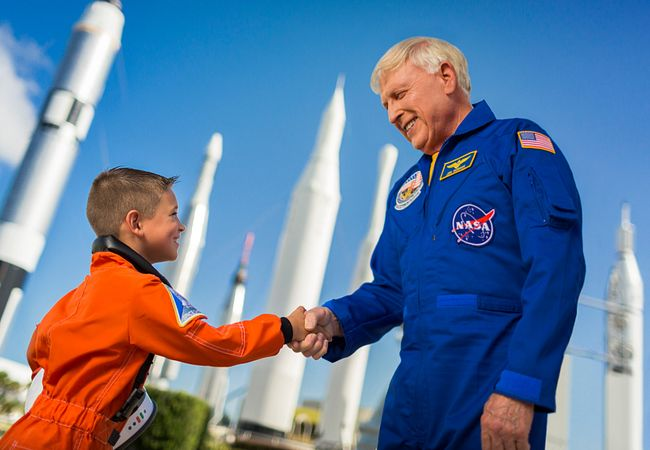 Lunch With an Astronaut at Kennedy Space Center Visitor Complex Near Orlando