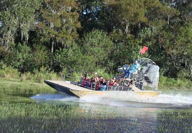 Boggy Creek Airboat Rides in Orlando