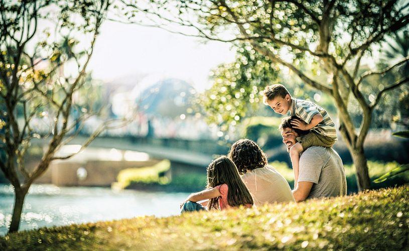 Family fun at an Orlando park