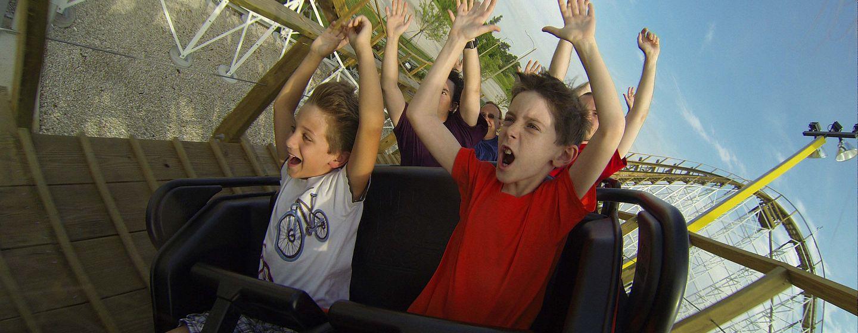 White Lightning at Fun Spot America in Orlando