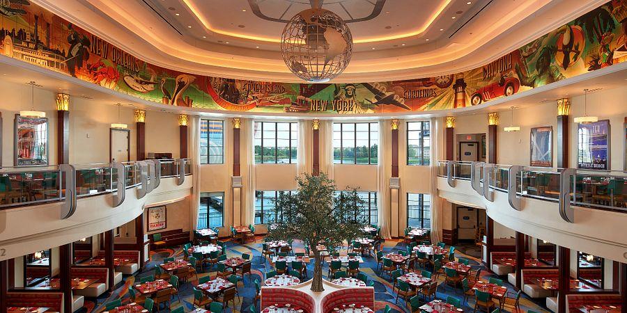 Main Dining Room Inside Maria & Enzo's Ristorante at Disney Springs