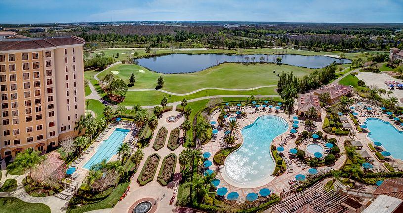 Rosen Shingle Creek overview of resort