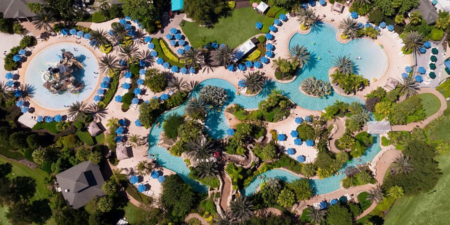Make some waves with record-breaking water slides, pools the size of lakes and tranquil lazy rivers at water parks throughout Orlando.