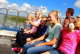 Orlando airboat tours at Wild Florida