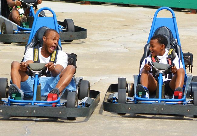 Commander Go-Kart Track at Fun Spot America in Orlando