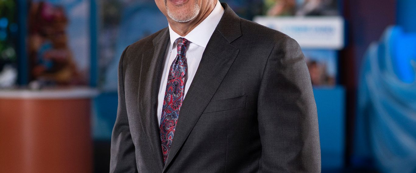 Portrait of George Aguel, CEO of Visit Orlando
