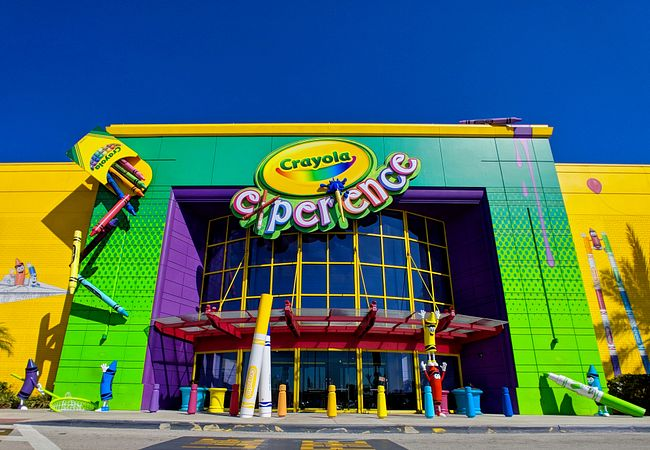 Crayola Experience at The Florida Mall in Orlando