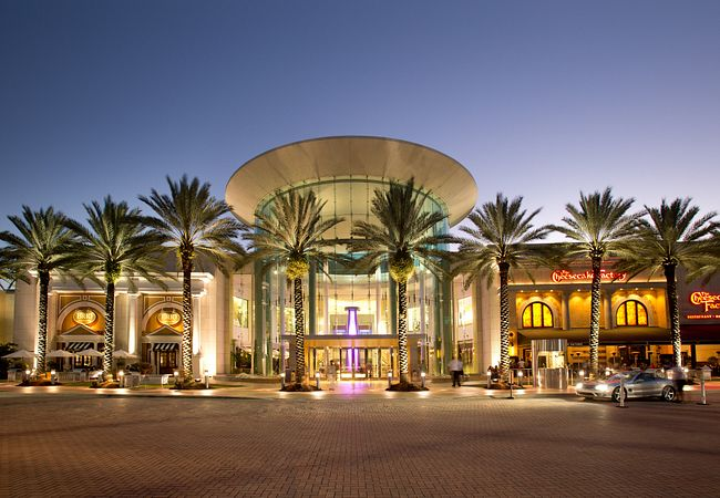 Main Entrance to The Mall at Millenia in Orlando