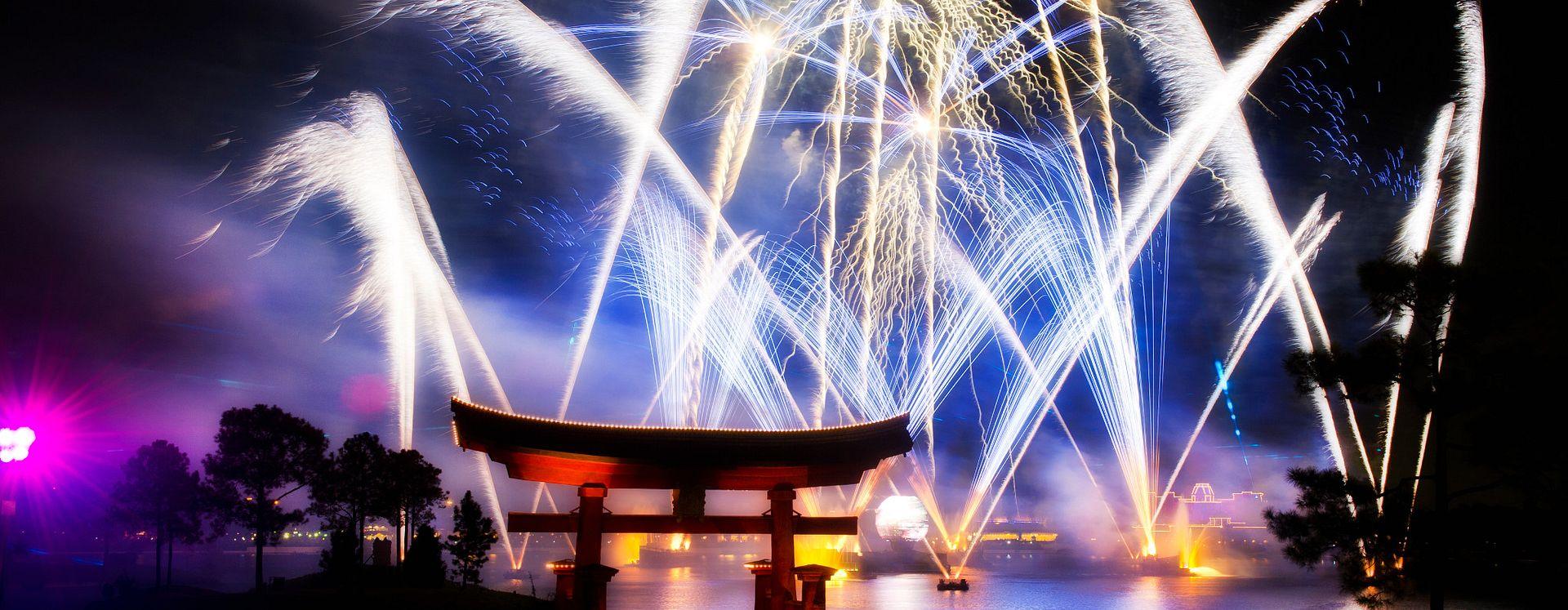 Walt Disney World's Illuminations Fireworks