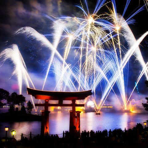 Fogos de artifício Illuminations do Walt Disney World