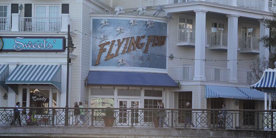 Flying Fish at Disney's BoardWalk in Orlando