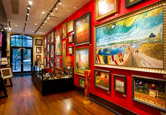 Enjoy Artwork While You Dine at The Boheme, Located at Downtown Orlando's Grand Bohemian Hotel
