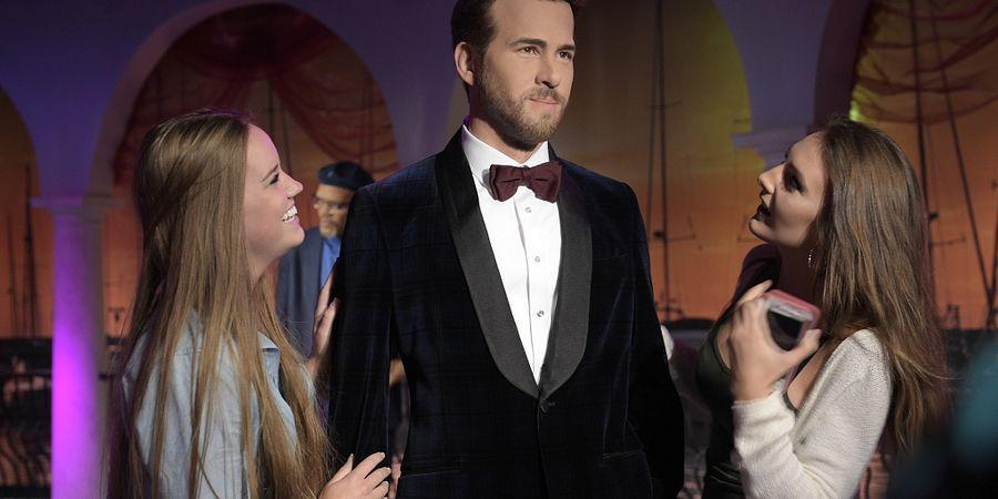 Ryan Reynolds at Madame Tussauds Orlando