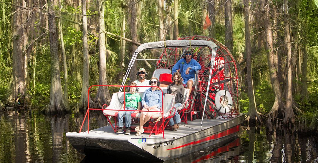 Spirit of the Swamp Airboat Rides Near Orlando