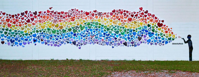 Diversity Mural in Orlando