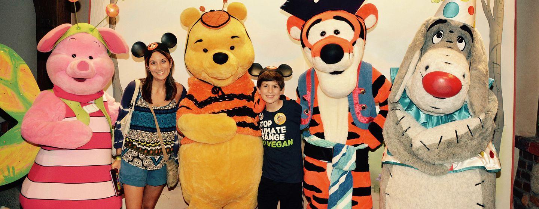 Miriam Porter & Son at Walt Disney World Resort in Orlando
