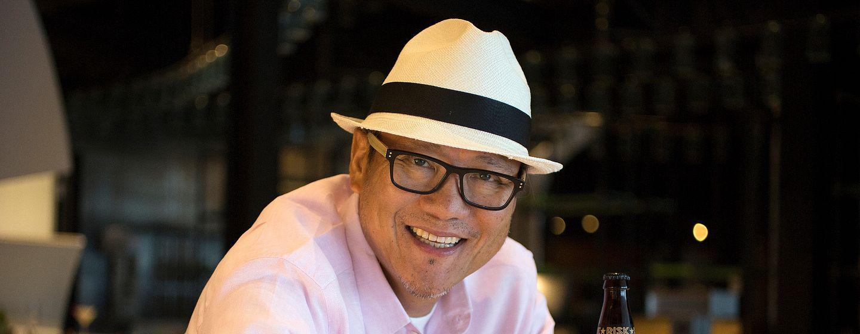 Iron Chef Masaharu Morimoto of Morimoto Asia in Orlando