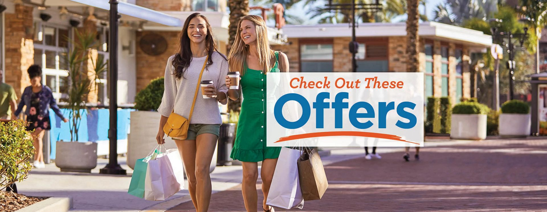 Women shopping to promote Visit Orlando Deals