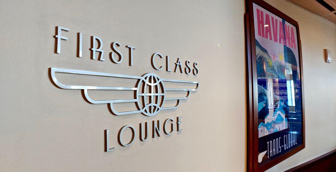"""""""Passenger"""" Check-In at Maria & Enzo's Ristorante"""