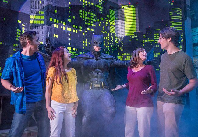 Ben Affleck as Batman at Madame Tussauds Orlando